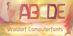 Waldorfschrift - Webfont & Desktop font « MyFonts