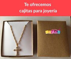 Caja kraf Jewellery Box, Creative Crafts, Boxes, Creativity