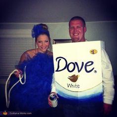 Loofah and Soap - Halloween Costume Contest via @costumeworks