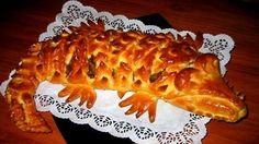 Мясной пирог «Крокодил» — это просто чудо! Очень праздничный, но и очень вкусный и сытный! Ваши гости будут в восторге от Вашего искусства.