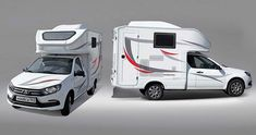 Lada Camper Is For Outdoorsy People On A Tight Budget Tiny Camper, Camper Van, Toyota Tacoma, Van Conversion Interior, Minivan Camping, Little Campers, Off Road, Small Cars, Camper Trailers