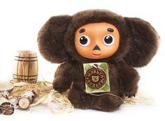 Russian Cheburashka - plush toy : Stuffed toy Cheburashka #cheburashka #cheburashka_toys