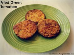 Gluten Free Fried Green Tomatoes