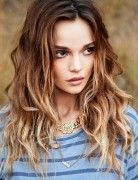 Best Long Hairstyles for 2015: Ombre Wavy Hair