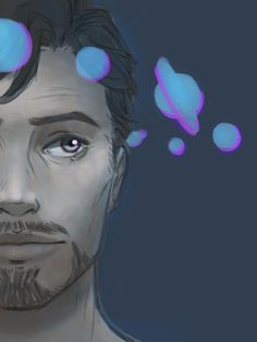 """arctua: """" too lazy to finish this. based on @kayvsworld's space prince tony things. """""""