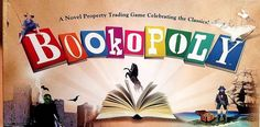 BOOKOPOLY Board Game NEW! Novel Property Trading Game Celebrating the Classics #LatefortheSky