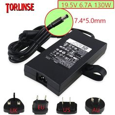 Original DELL G5 15 5587 G7 15 7588 P72F 19.5V 6.7A 130W AC Charger Adapter