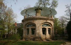 Art Nouveau et Jugendstil. Courants artistiques et littéraires de 1880 à 1920: La villa Majorelle à Nancy, France