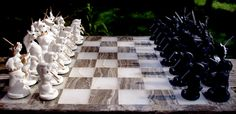 Chess Set II by SovaeArt.deviantart.com on @deviantART