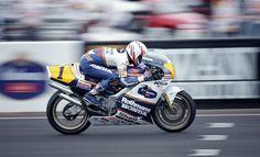 Una de les èpoques més maques: la Honda NSR500 de Eddie Lawson al Gran Premi d'Austràlia de 1989 a Eastern Creek