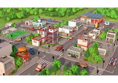 Present to you the low poly city pack which contains of: 17 unique buildings, 9 cars, 5 types of trees and much more.