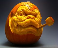 Baron Alfons Von Pumpkin Face by AlfredParedes.deviantart.com on @deviantART
