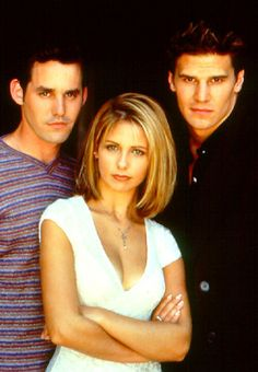 Buffy, Xander & Angel