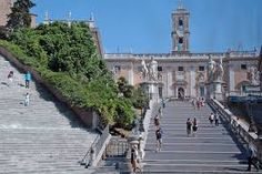 Rome picture: Cordonata and Palazzo Senatorio Palazzo, Places Ive Been, To Go, Europe, Italy, Mansions, House Styles, Bucket, Thoughts