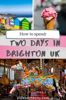 Bumper guide to 48 hours in Brighton, check out our list of quirky activities, iconic sites, shows and the best places to eat in this hip, seaside city. Brighton is now a cosmopolitan and vibrant hangout town, perfect for a weekend getaway with shopping, street art and food #brighton #uk #travel #brightonuk #uktravel #seaside #beach #england Best Places To Eat, Best Places To Travel, Cities In Europe, Travelling Europe, Travel Guides, Travel Tips, Scotland Travel Guide, Cornwall, Brighton Uk