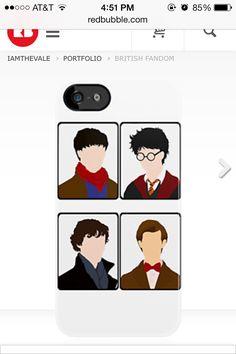 Merlin...Doctor....Sherlock...Harry...