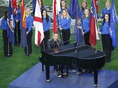 John Legend performs 'America the Beautiful' before