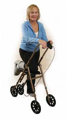 Knee walkers are ideal for anyone expecting a long healing time from foot injuries or surgeries.