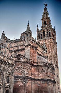 Catedral de Sevilla, Spain by -Kaesar