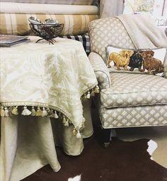 Ottoman, Couch, Interior Design, Chair, Fabric, Inspiration, Furniture, Home Decor, Instagram