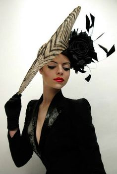 Hats/styling Philip Treacy | Model Rita Gonçalves. Hair/make-up Issidora Make Up. Photography Goran Lazarevic Ilicic.