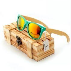 BOBO BIRD Wood Sunglasses Polarized With Wood Box BB003 //Price: $21.99 & FREE Shipping //     #hashtag1