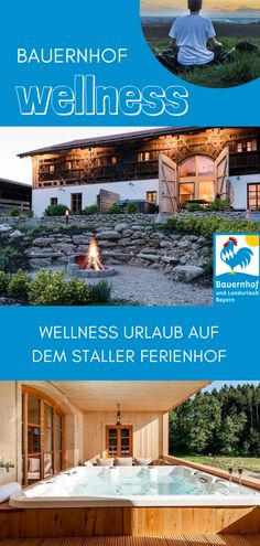 Gastgeber Unique holiday apartments in a listed Bundwerkstadl, large swimming pond, sauna & whirlpool in a secluded location. Children can let off steam in the large playground with swing, slide, cabl Diving Board, Holiday Apartments, Wooden Decks, Hotel Spa, Winter Holidays, Playground, Pergola, Swimming, Outdoor Structures