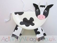 Nice and funny Farm Craft Cow Art Project - Simple Mother Project, Art Cow Craft Cute Farm .Nice and funny Farm Craft Cow Art Project - Simple Mother Project, Art Cow Craft Cute Farm Farm Animal Crafts, Animal Crafts For Kids, Crafts For Kids To Make, Toddler Crafts, Crafts Toddlers, Dinosaur Crafts, Farm Theme Crafts, Farm Animals, Craft Activities