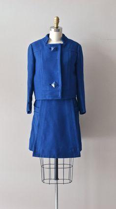 Robert Samuel suit vintage 1960s wool suit mod 60s by DearGolden