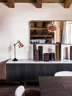 Maison HAND - chalet Mégève - photos Felix Forest Liquor Cabinet, Decoration, Shelves, Storage, Furniture, Photos, Home Decor, Chalets, Alps