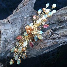 Titanias Dream Fairy Hair Vine Fascinator | Thyme2dream - Wedding on ArtFire