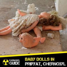 Dolls in abandoned kindergaden in Pripyat Chernobyl.  To konw more visit our information site about the  Chernobyl Disaster and Ghost-Town  Pripyat  http://ift.tt/2waAZah  If you want to visit  Chernobyl (link in profile)  http://ift.tt/2feMAhN  #chernobyl#chernobylchild#chernobylzone#chernobyldiaries #chernobylexclusionzone#chernobyldisaster#chernobylwelcome#pripyat #prypiat#pripyattour#ghosttown#chornobyl #czarnobyl #abandoned#chernobylguidetour