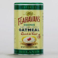 One of my favorite discoveries at WorldMarket.com: Flahavan's Irish Oatmeal
