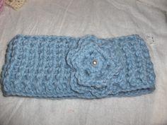 Crocheted headband, crocheted airwarmer, organic, alpaca, hair accessories by Hildescrochetshop on Etsy