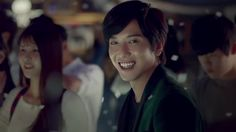 "CNBLUE's lead singer, Jung Yong Hwa, in the ""One Fine Day"" MV from his solo album also titled, ""One Fine Day""    That beautiful smile :) le sigh!"
