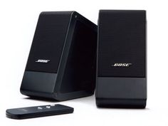 Bose Micro Music Monitor Speakers