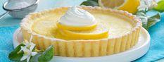 Crostata con crema di yogurt Total al Limone