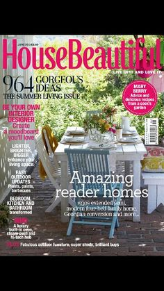 Feature about one of our loft conversions in house beautiful magazine