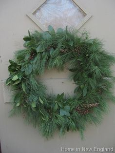 My favorite type of wreath~