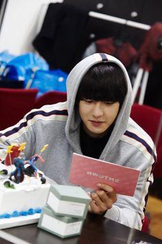 Chanyeol - 181206 Chanyeol's Birthday Party Credit: Official EXO-L website. Baekhyun Chanyeol, Chansoo, Chanbaek, Chanyeol Birthday, Kai, Exo Korea, Luhan And Kris, Rap God, Xiu Min