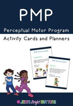 Perceptual Motor Program Activity Cards for Gross Motor Sk