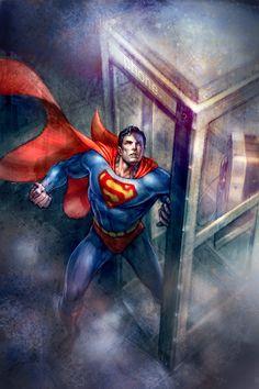 Cubierta Confidencial Superman por andyparkart
