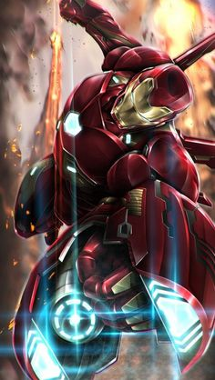 Iron Man Weapon iPhone Wallpaper Marvel Universe - Anime Characters Epic fails and comic Marvel Univerce Characters image ideas tips Iron Man Avengers, The Avengers, Iron Man Pictures, Iron Man Photos, Iron Man Hd Images, Iron Man Kunst, Iron Man Art, Iron Man Wallpaper, Les Innocents