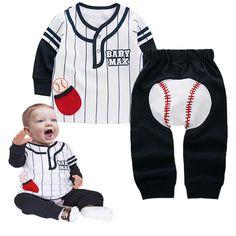 baseball baby pants