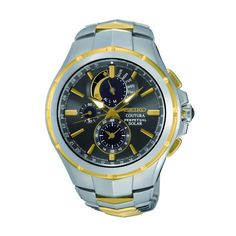 Win a Seiko Men's Coutura Solar Perpetual Chronograph Watch, Retail Value $495 from Samuels Jewelers and Military Bridge.
