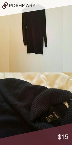 Turtle Neck Sweater Dress Never worn. It's about 2.5 inches above the the knees. Forever 21 Dresses