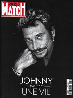 PARIS MATCH n°3578 08/12/2017 JOHNNY: une vie 1943-2017, Numéro Hommage à HALLYDAY
