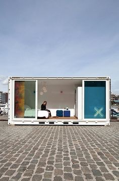Shipping container hotels