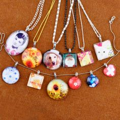 Happy Learning:Glass Cabochon Pendant Tutorial - Jewelry And Accessories - Zimbio