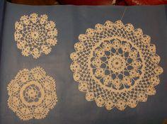 Circles, gehaakte cirkels, Marie Pilet